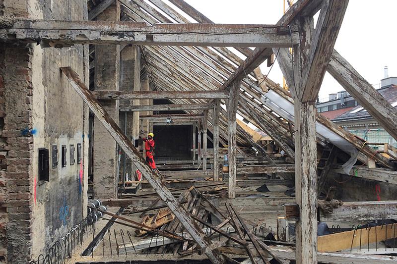 Baubeginn! Penthouse 1080 Wien