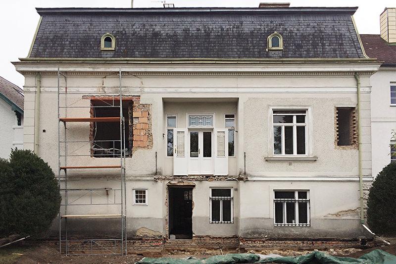 Umbau & Sanierung einer alten Villa im Zentrum von Mödling