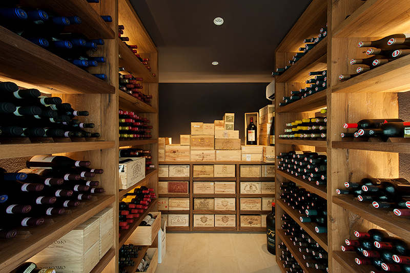 Der perfekte Weinlagerraum