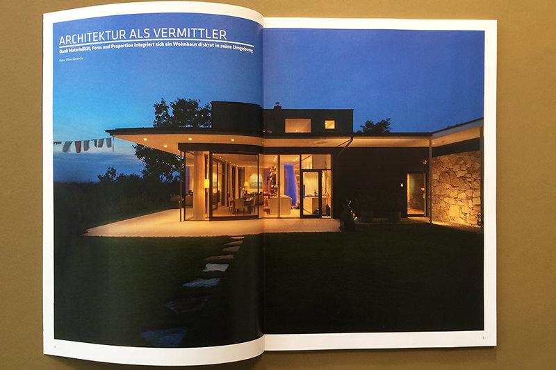 ARCHITEKTUR ALS VERMITTLER, Haus LK im CUBE Magazin