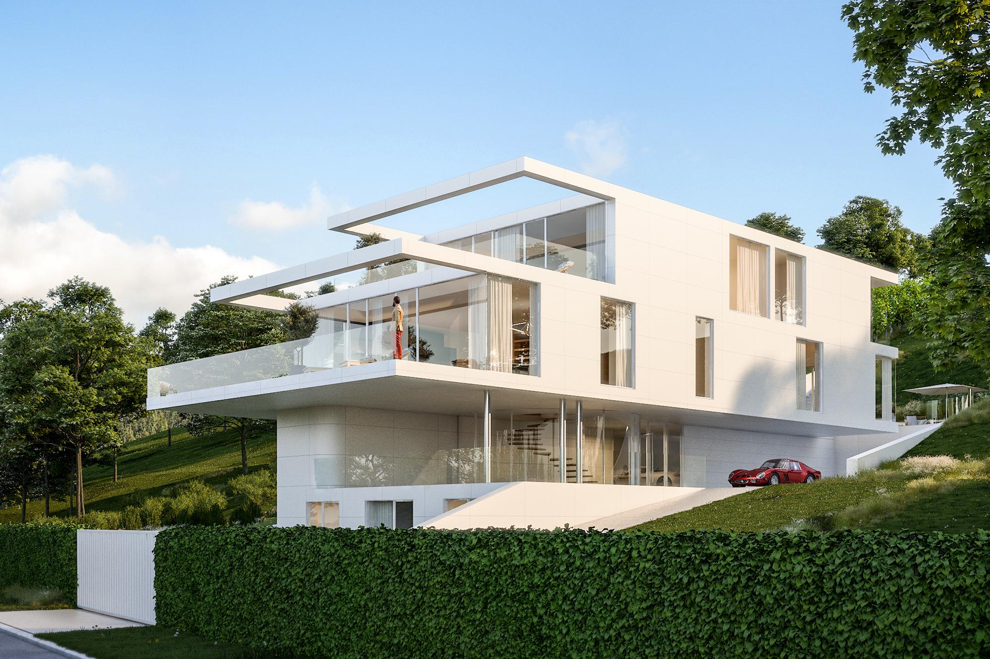 Villa mit Fernblick in Klosterneuburg