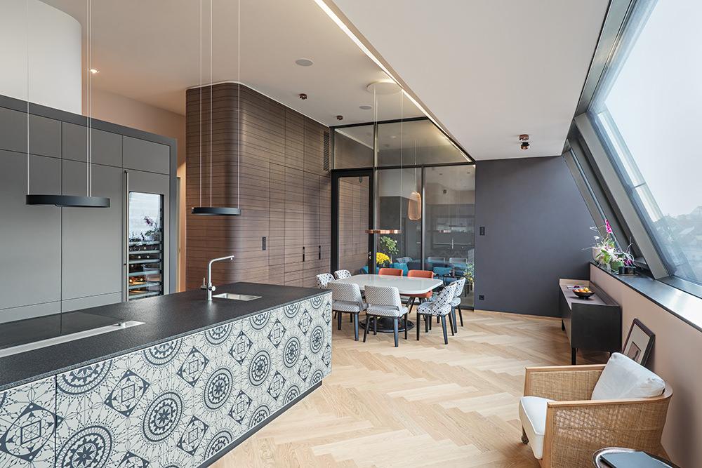 Penthouse Dachbodenausbau Architekt Wien