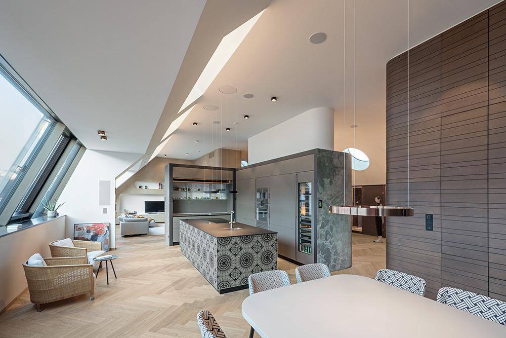 Küche Penthouse