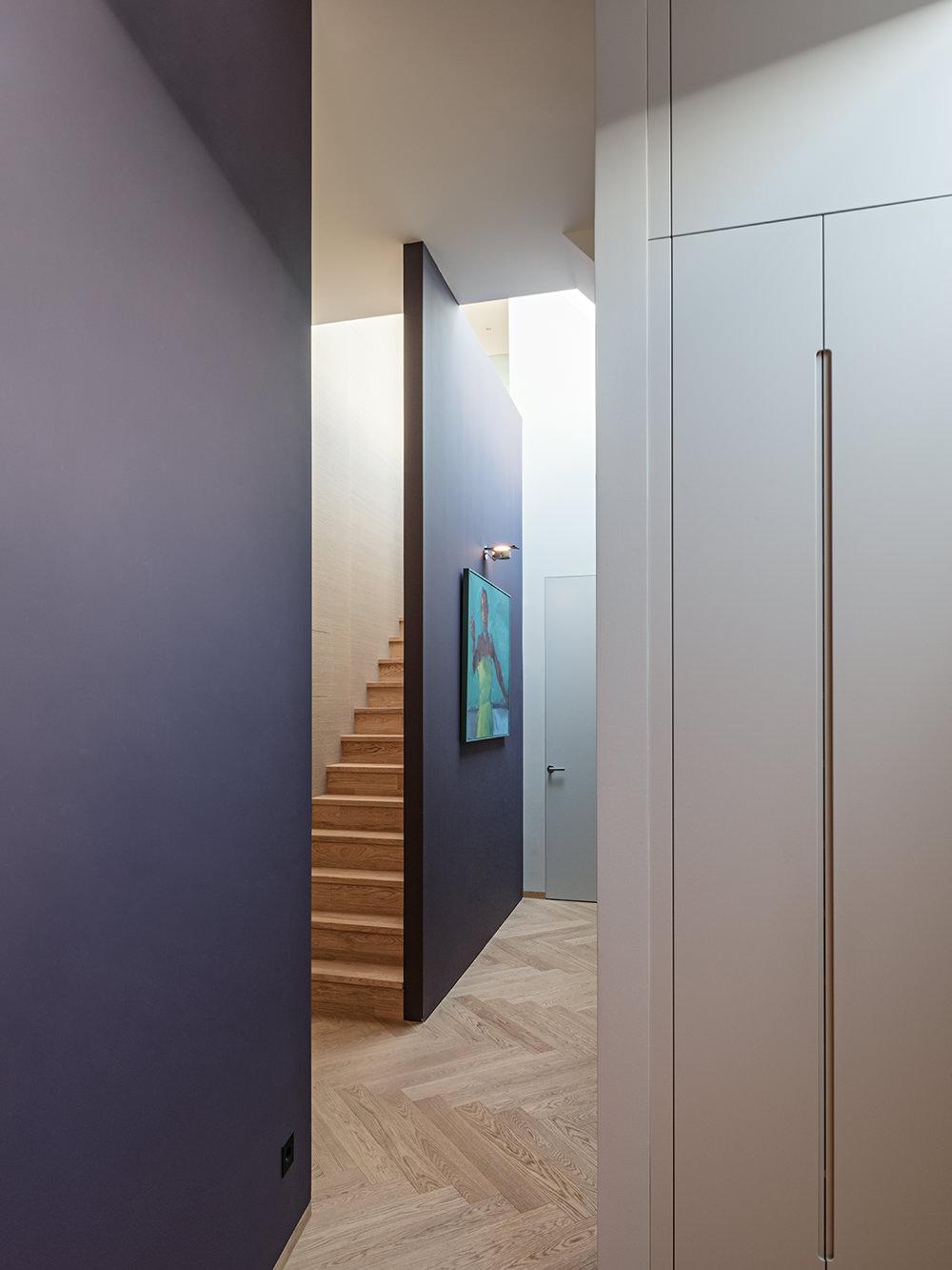 Stiegenaufgang Penthouse