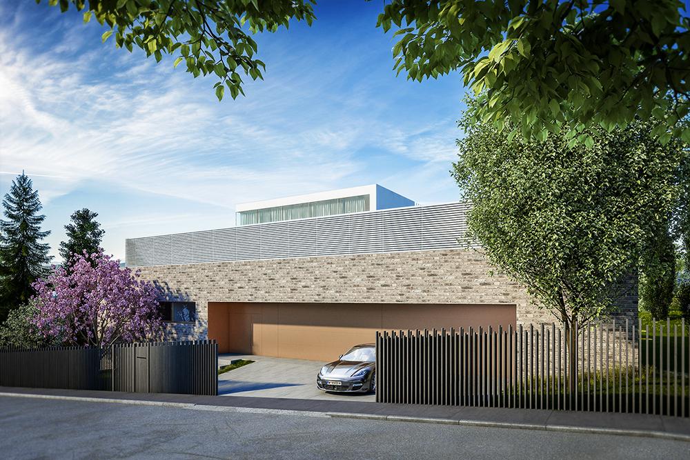 Architekt Villa Wien / Visualisierung