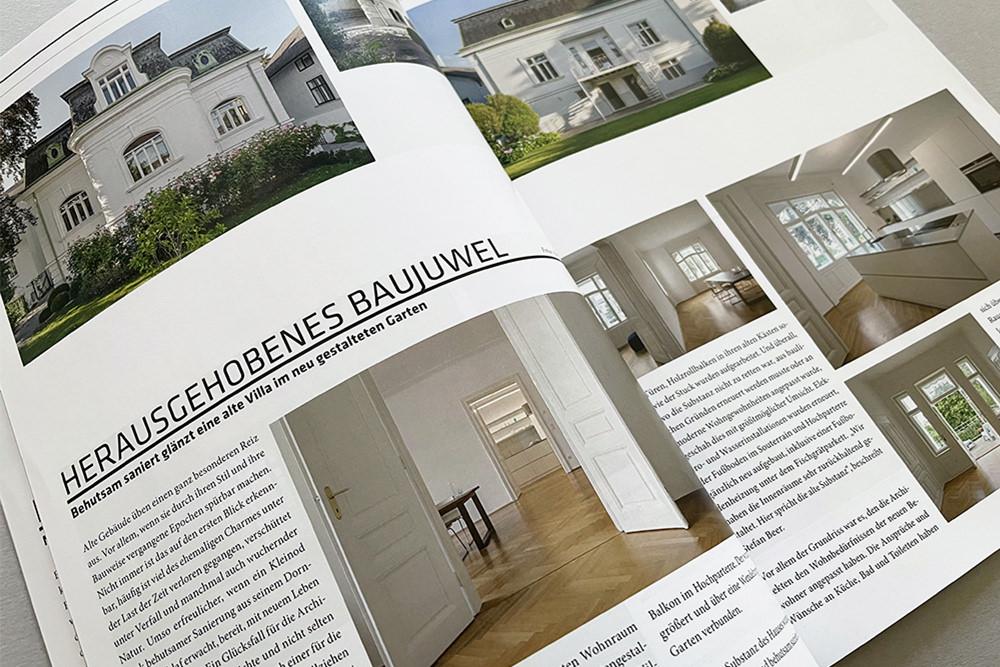 Herausgehobenes Baujuwel, Villa T im Cube Magazin