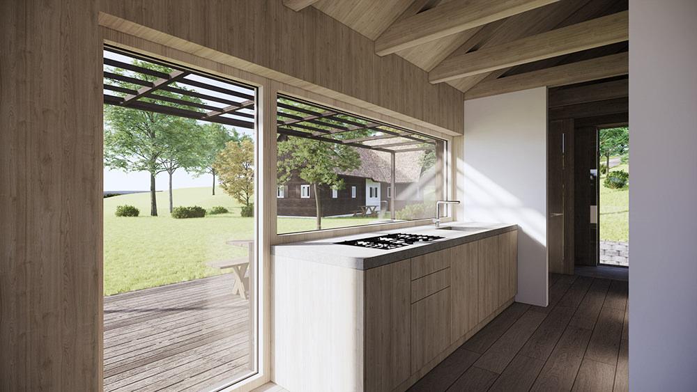 Küche Architekt Bauernhof