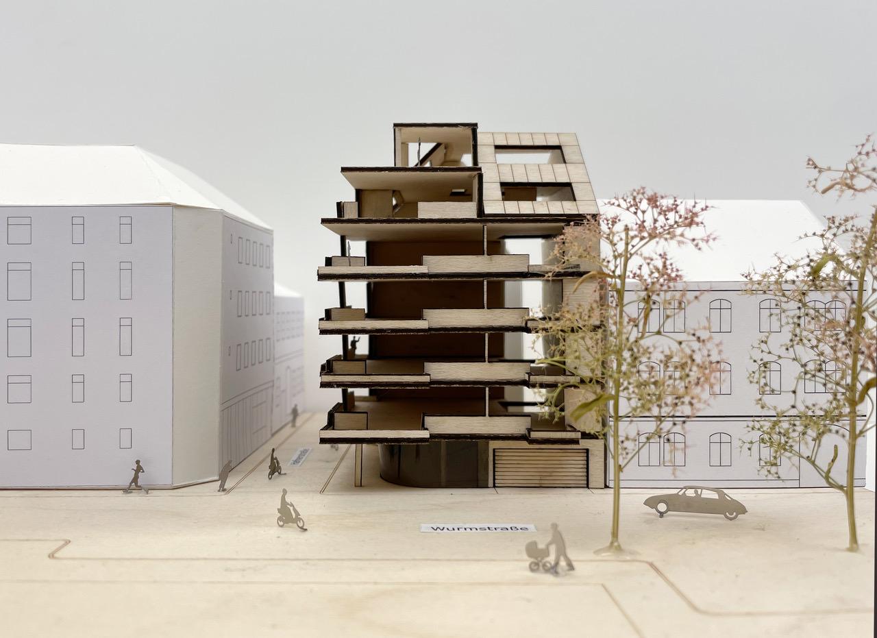 Wohnbau im Zentrum von Linz 01