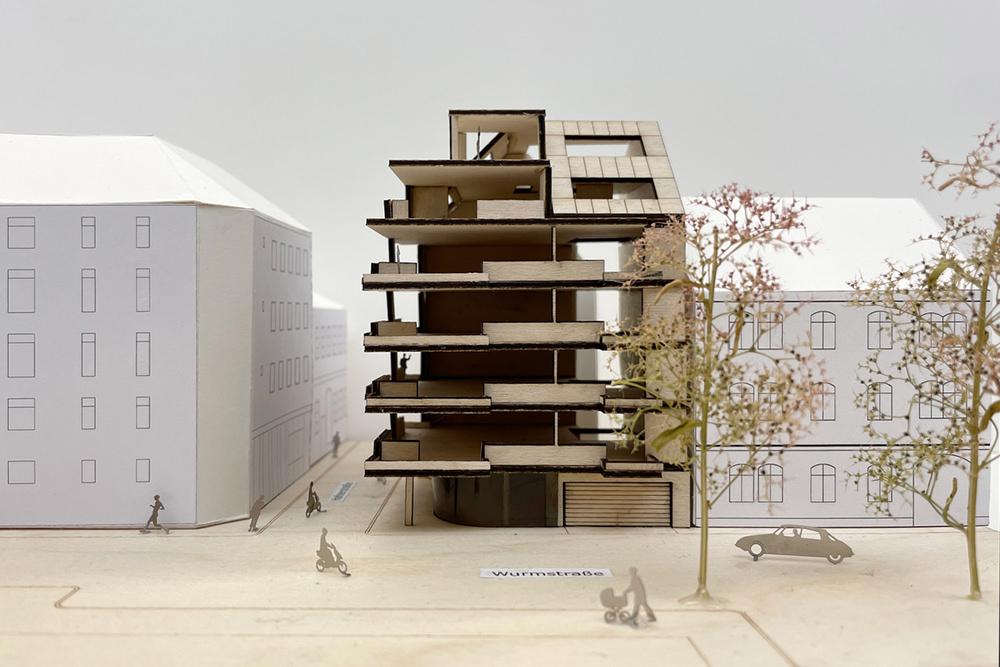 Wohnbau im Zentrum von Linz