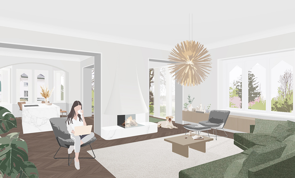Innenarchitekt Wien Villa