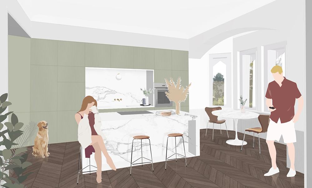 Innenarchitekt Küche