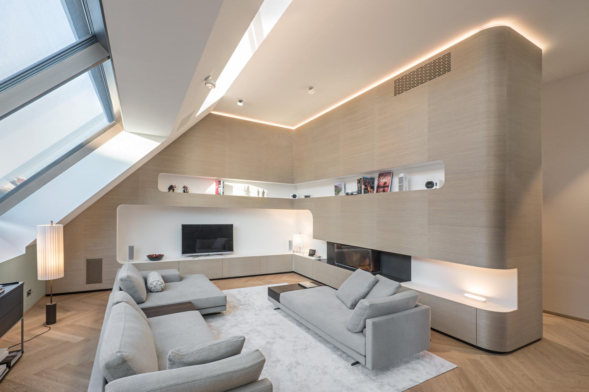 Penthouse Architekt Wien Innenansicht