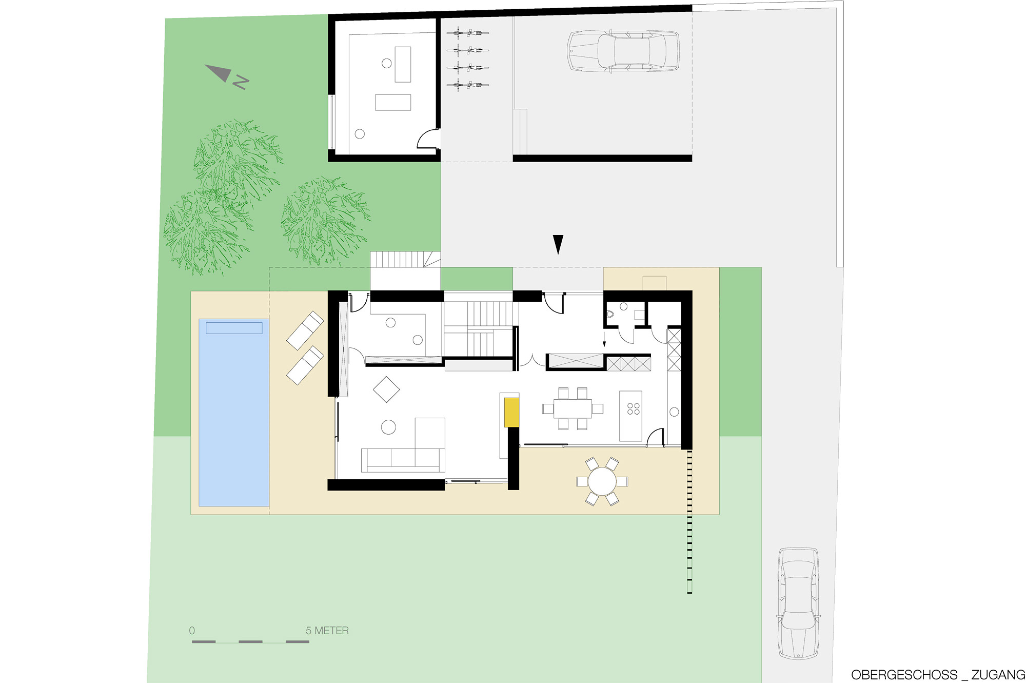 haus g 12 einfamilienhaus am hang steyr oberoesterreich junger beer architektur