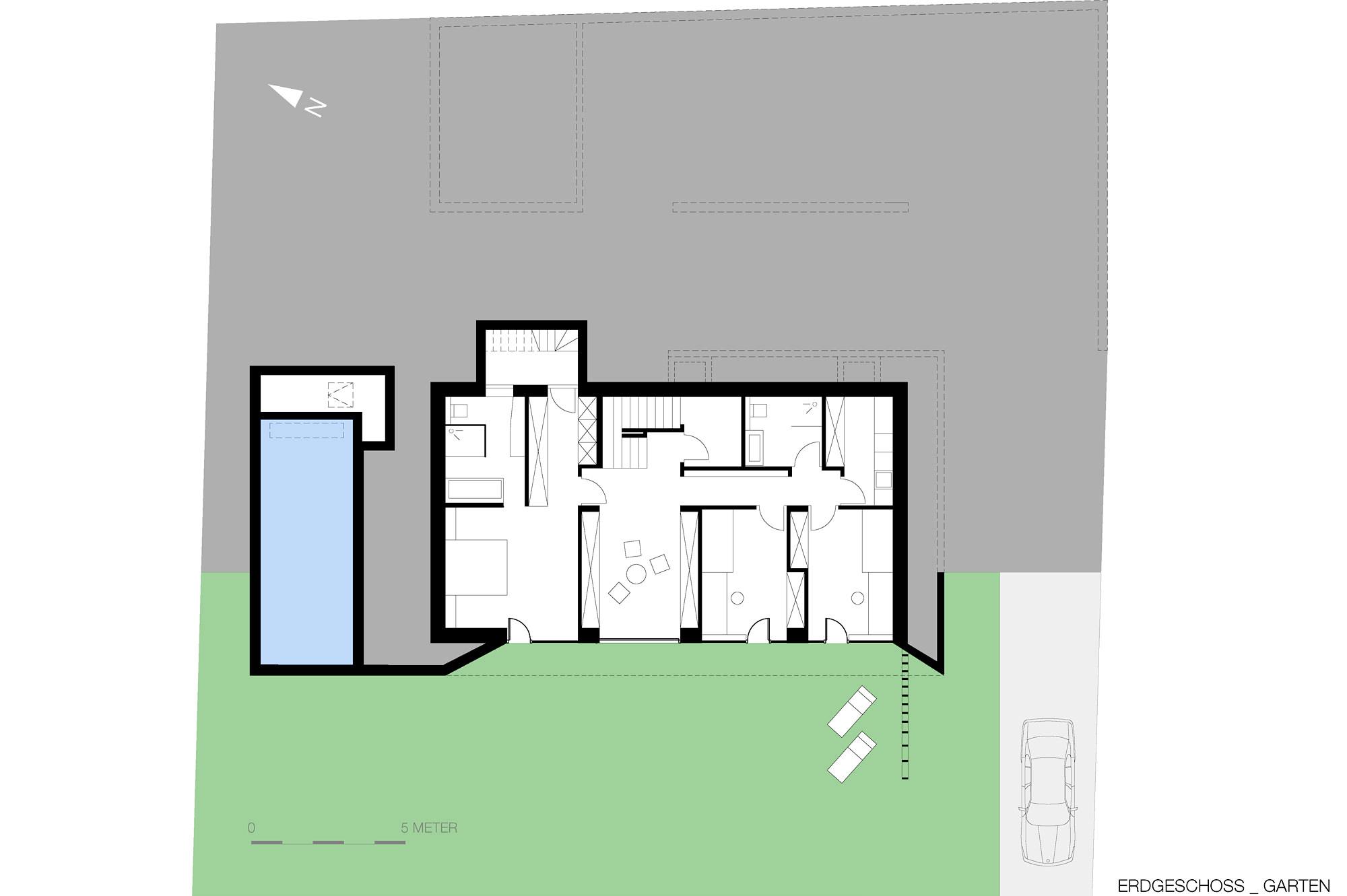 haus g 13 einfamilienhaus am hang steyr oberoesterreich junger beer architektur