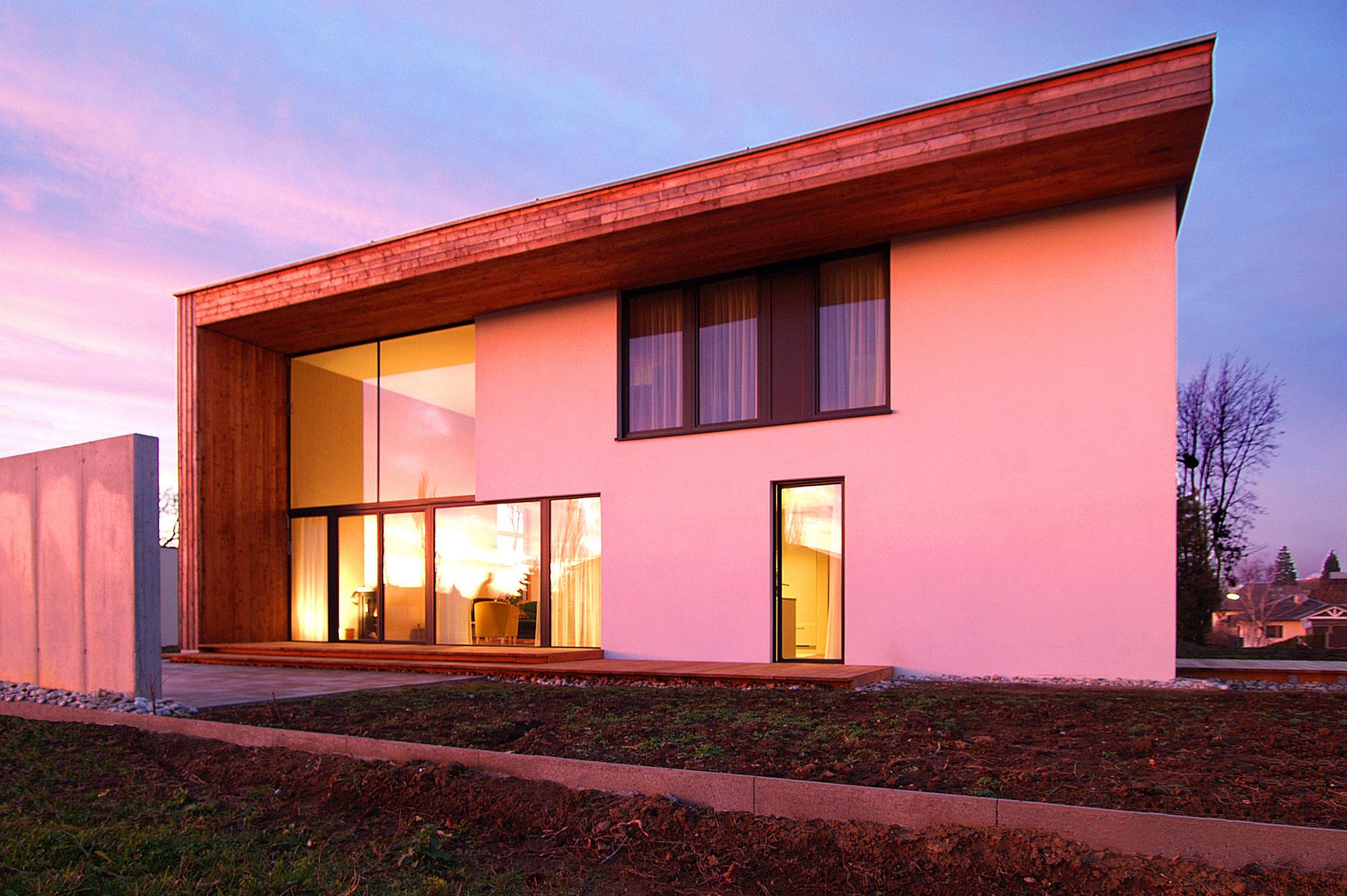 haus kv 01 einfamilienhaus niedrigenergiehaus st poelten niederoesterreich junger beer architektur