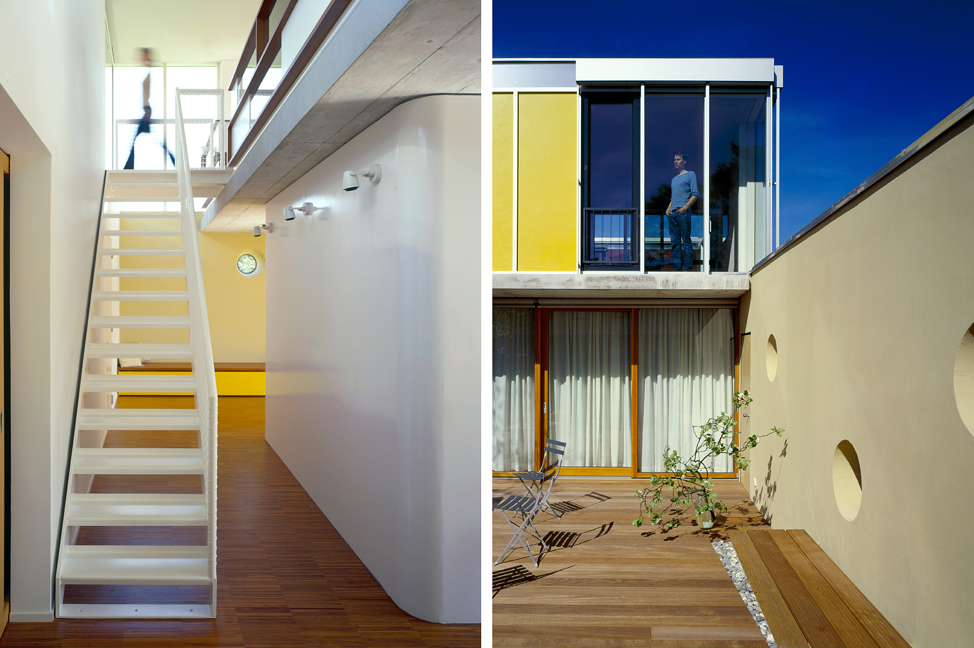 haus p 03 einfamilienhaus und buero in hard vorarlberg junger beer architektur