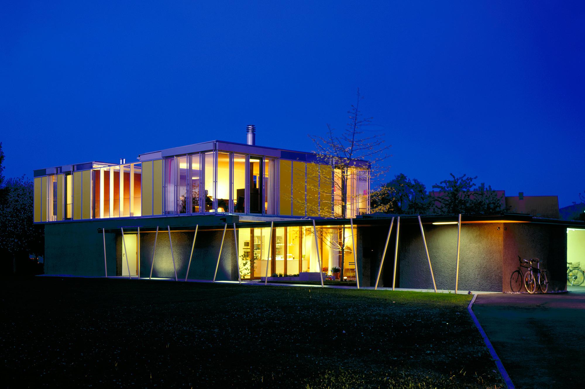 haus p 06 einfamilienhaus und buero in hard vorarlberg junger beer architektur