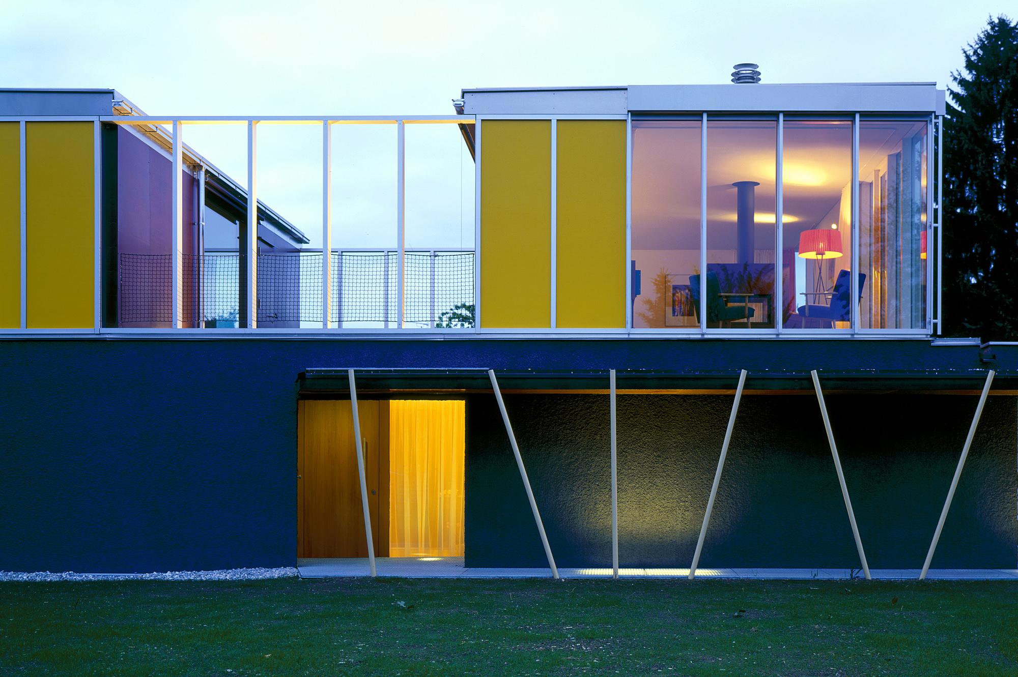 haus p 09 einfamilienhaus und buero in hard vorarlberg junger beer architektur