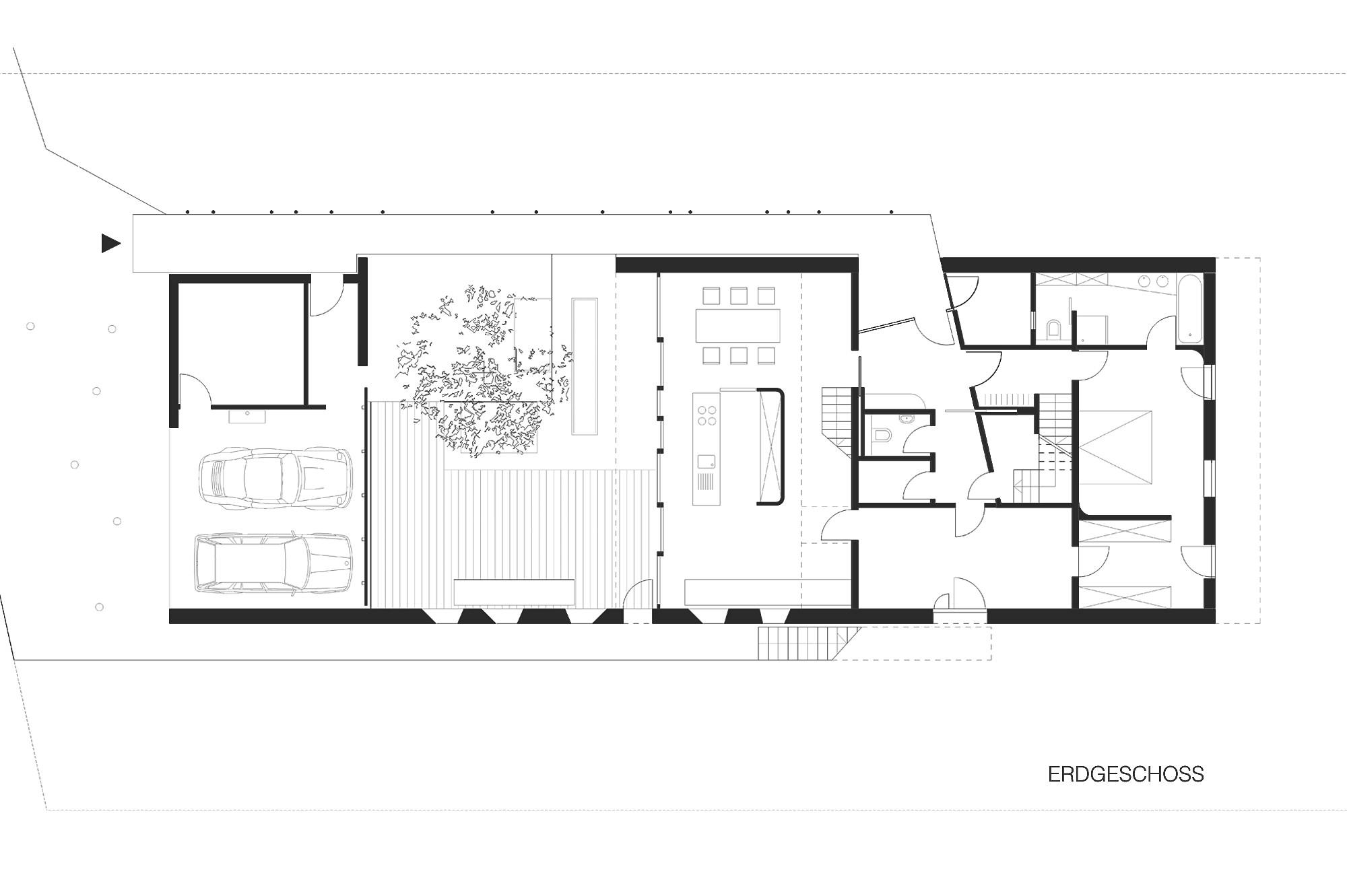 haus p 12 einfamilienhaus und buero in hard vorarlberg junger beer architektur