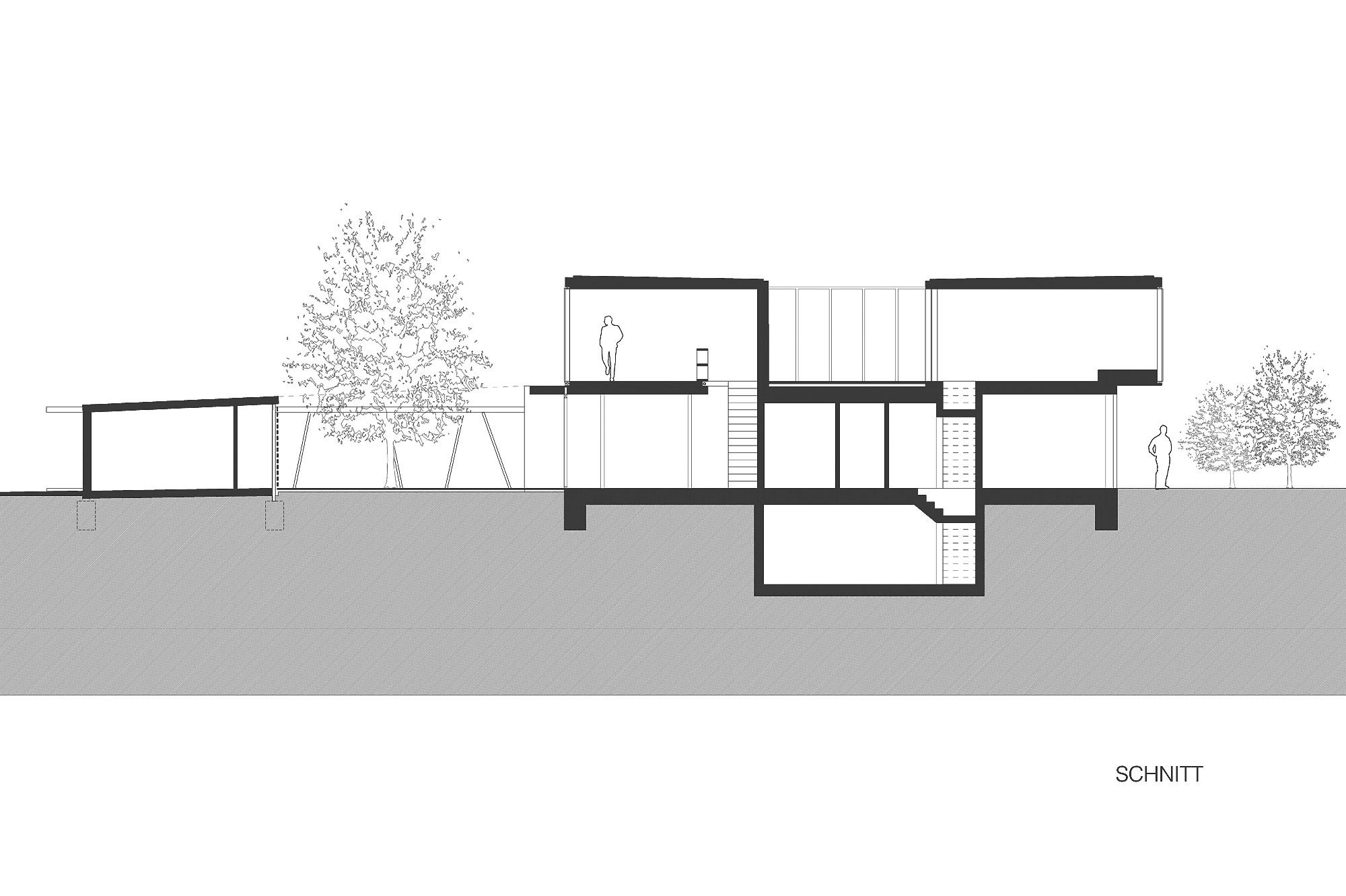 haus p 14 einfamilienhaus und buero in hard vorarlberg junger beer architektur