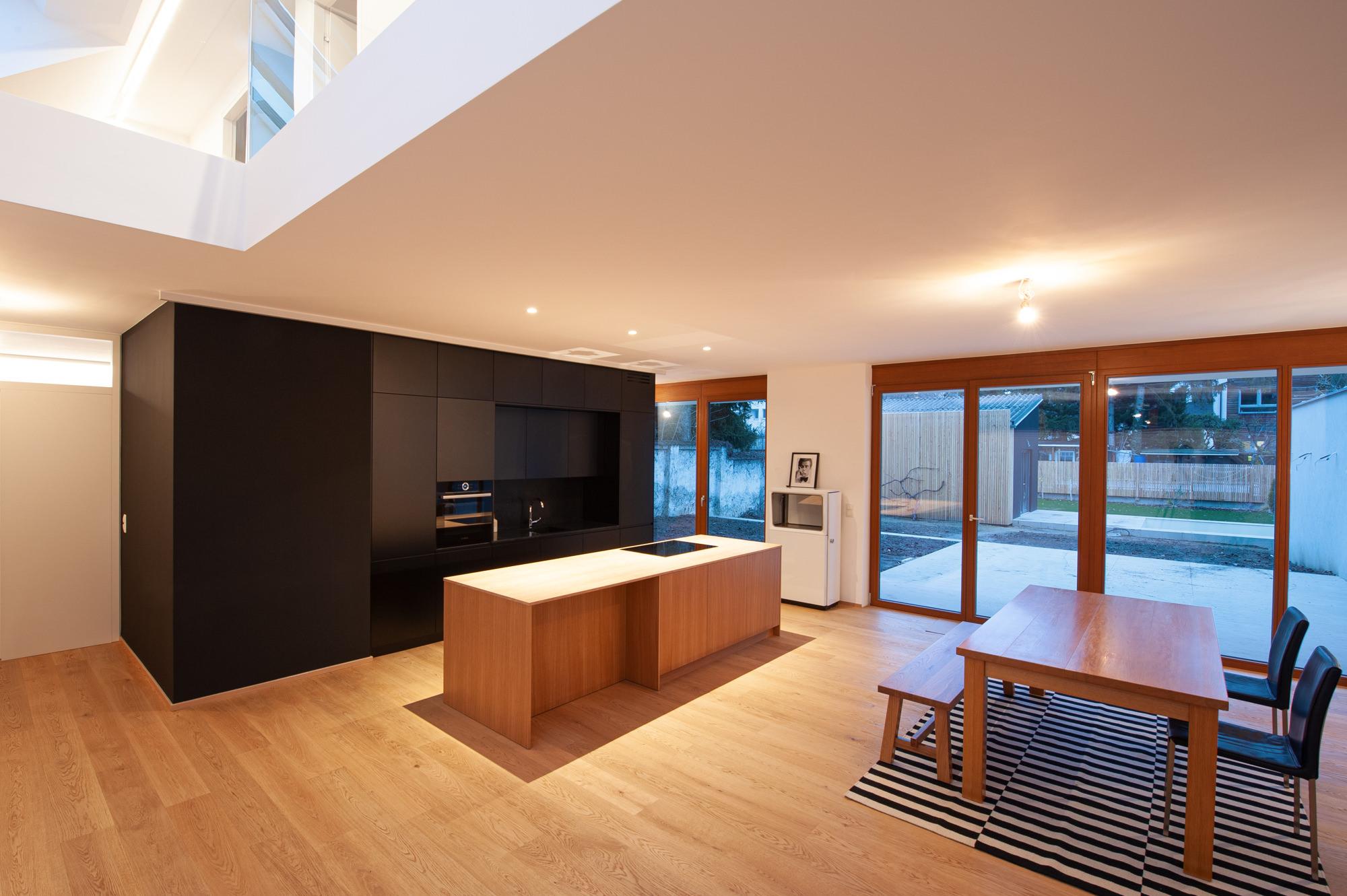 Innenansicht Wochenendhaus vom Architekten