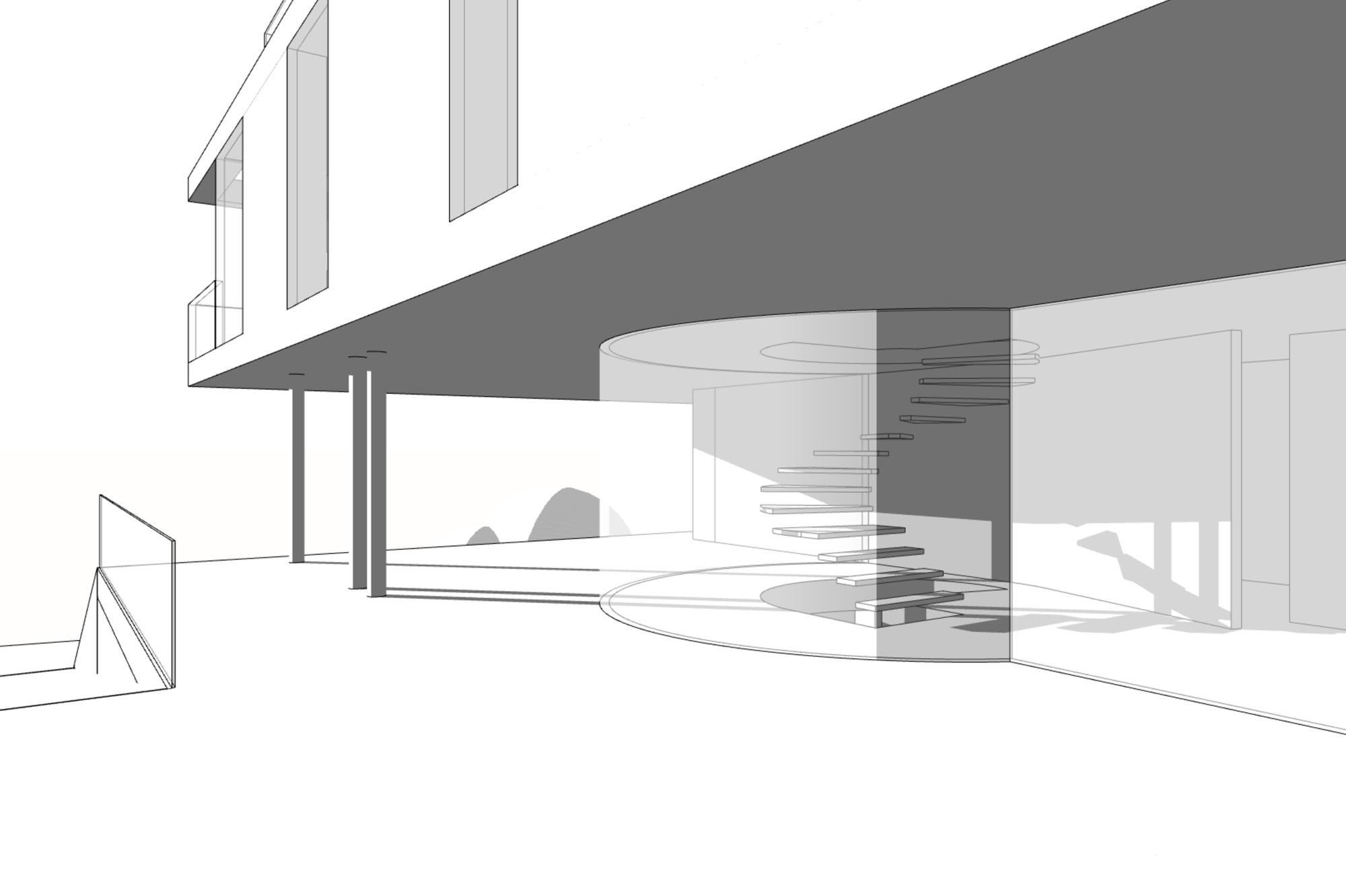 Architekten Villa mit Fernblick in Klosterneuburg