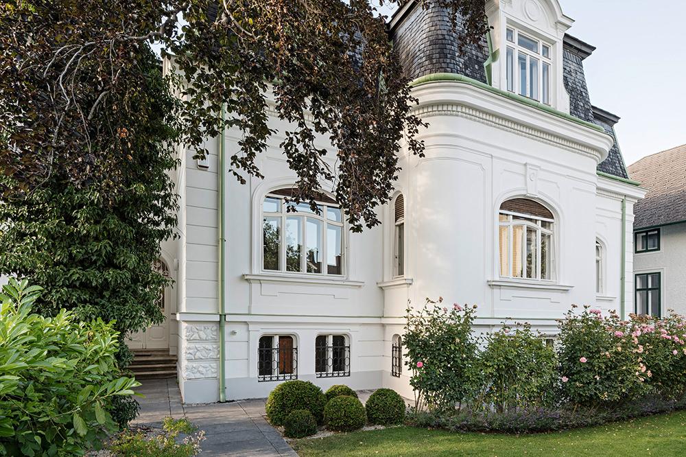 Sanierung einer Villa