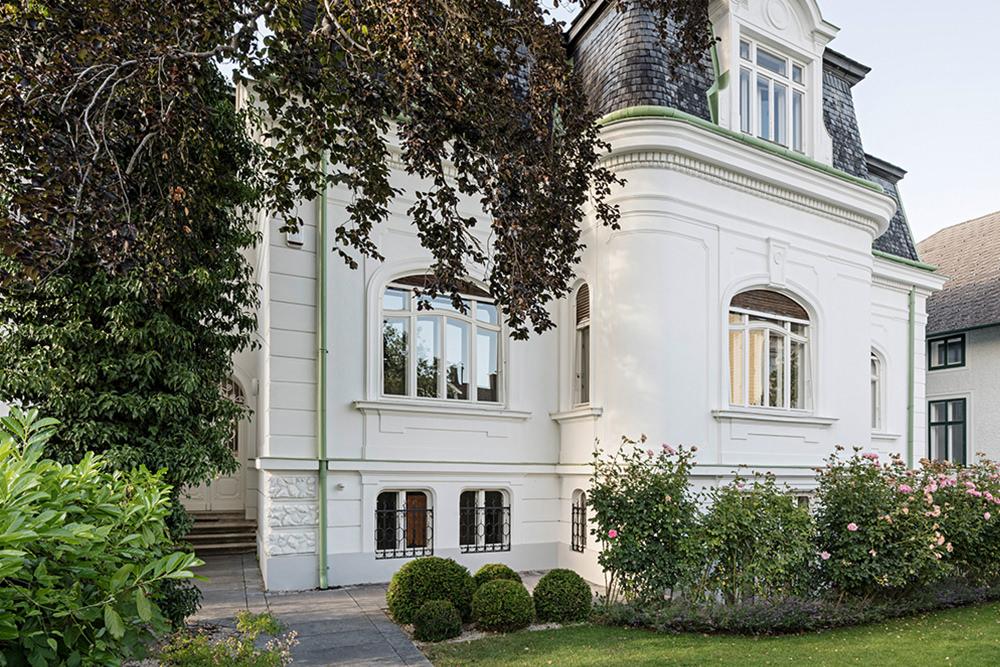 Sanierung einer Villa im Süden von Wien