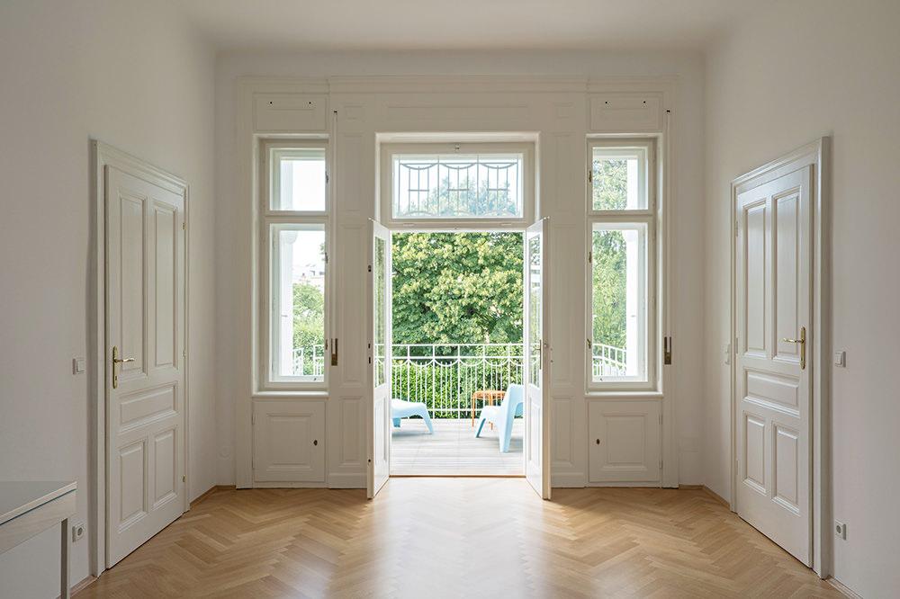 Sanierte Villa Wien