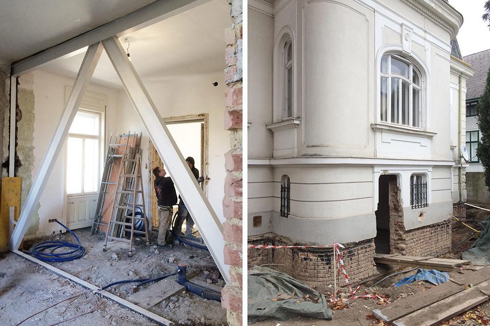 Umbau Villa