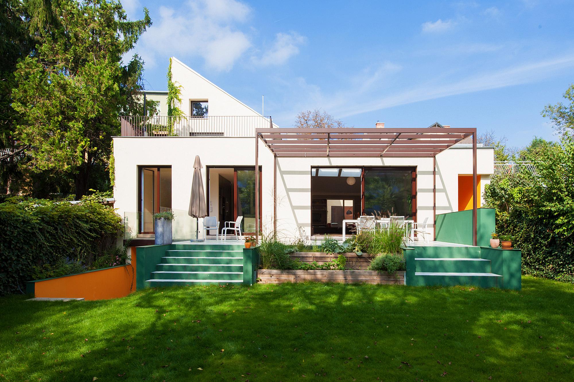 haus u 06 umbau und erweiterung einfamilienhaus 1190 wien junger beer architektur