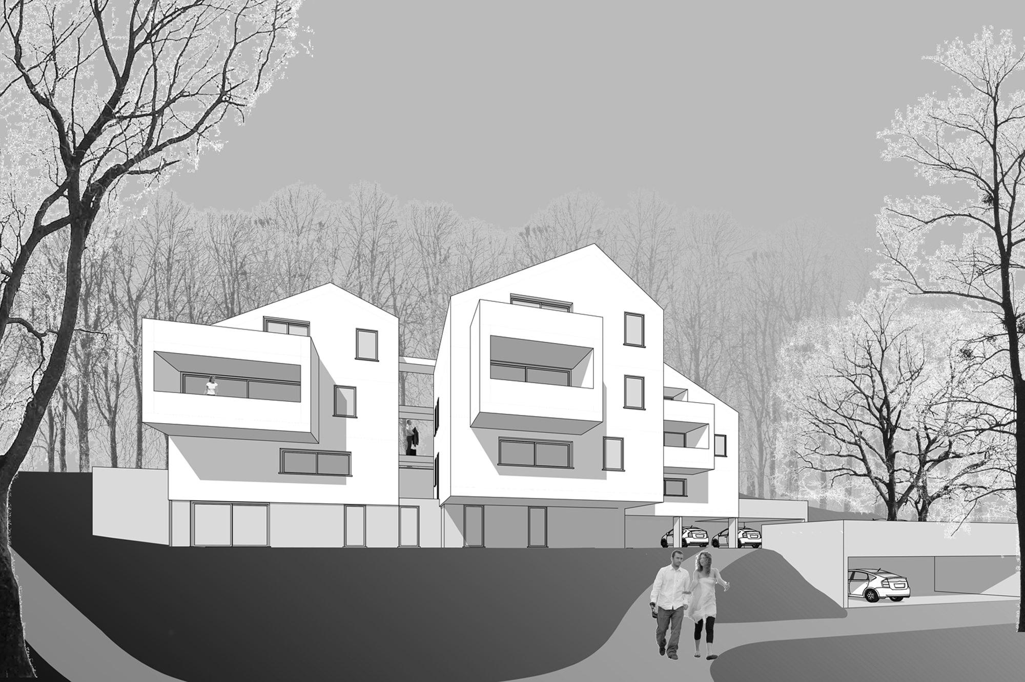 keutschach 01 wettbewerb  junger beer architektur