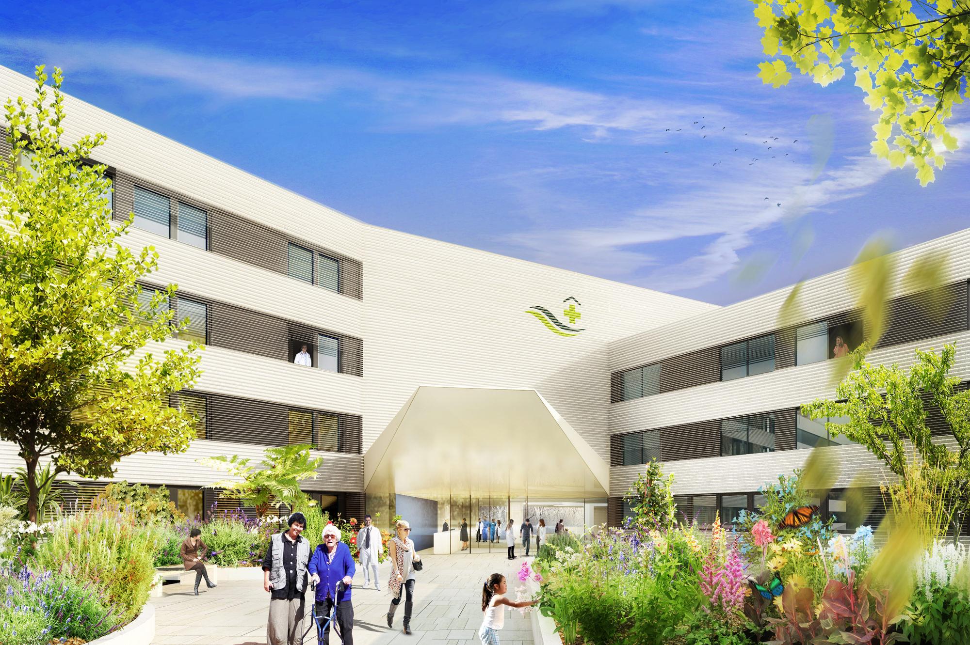 krankenhaus radebeul 01 umbau sanierung junger beer architektur