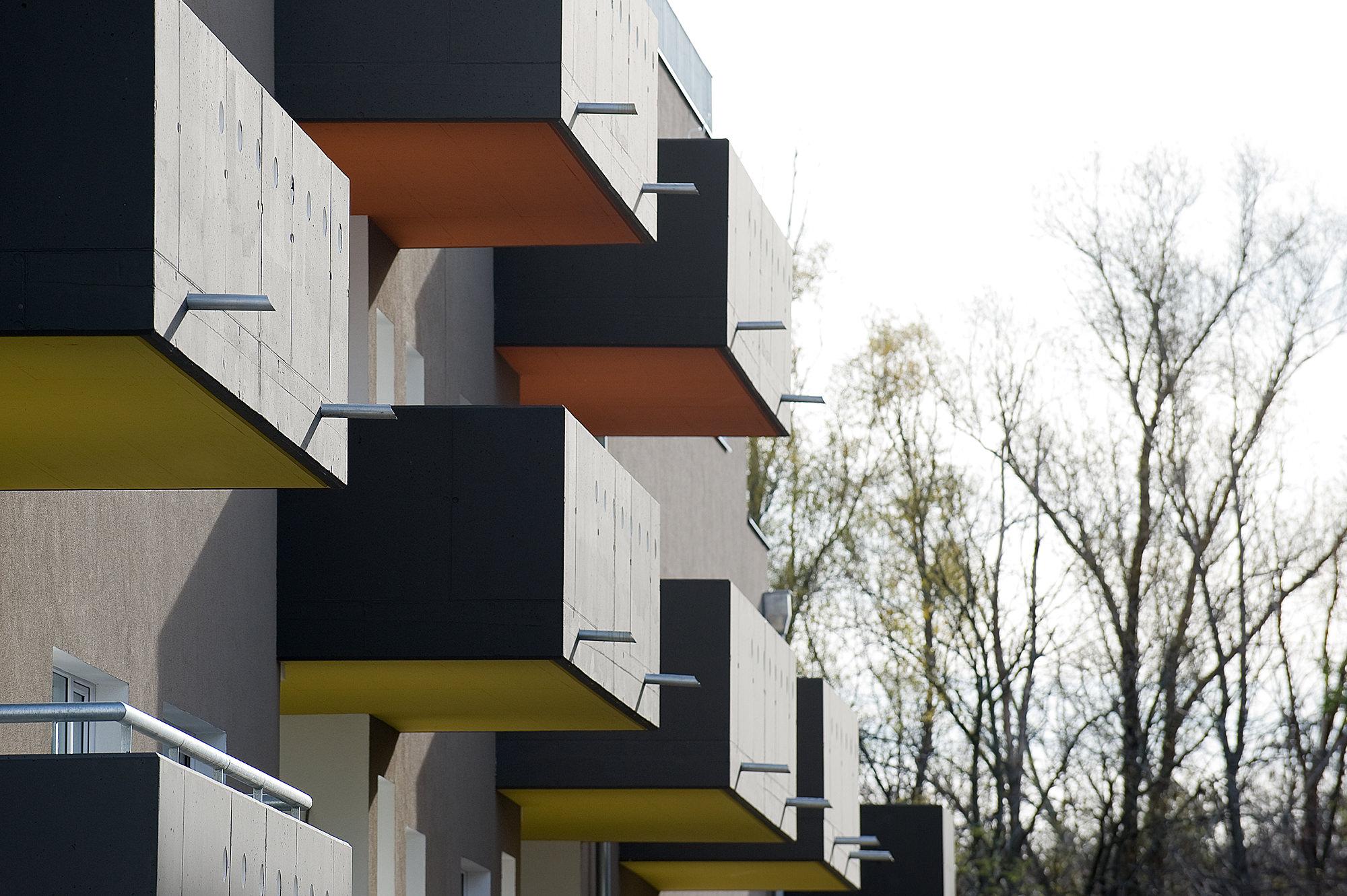 moselgasse 01 wohnbau 1100 wien junger beer architektur