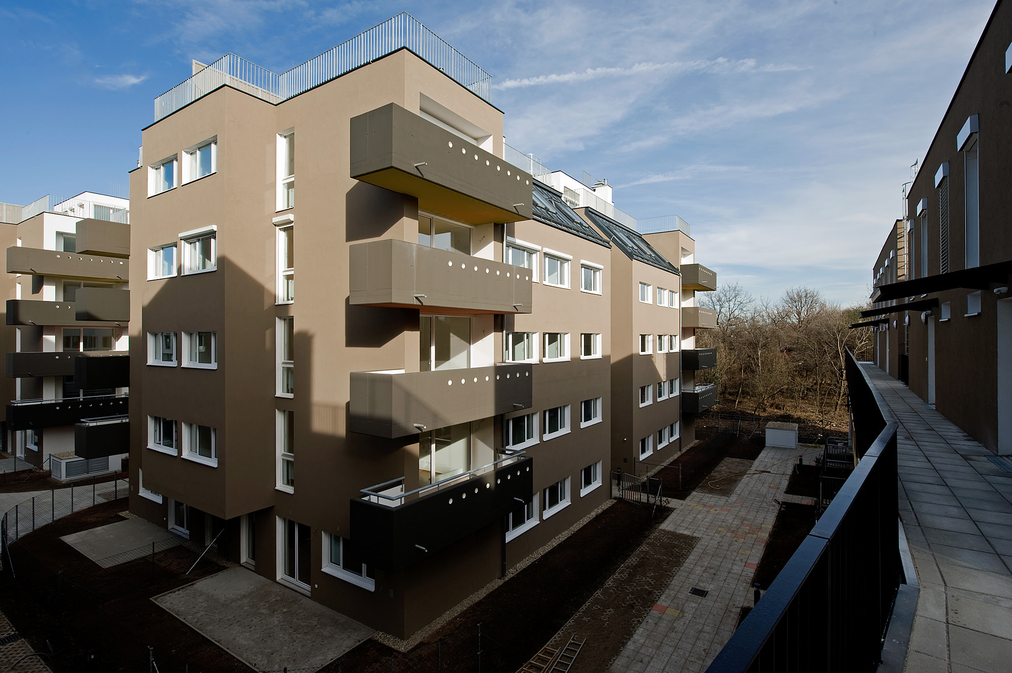 moselgasse 03 wohnbau 1100 wien junger beer architektur