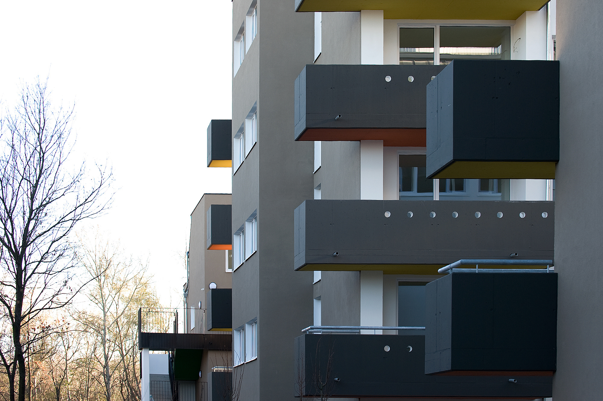 moselgasse 05 wohnbau 1100 wien junger beer architektur