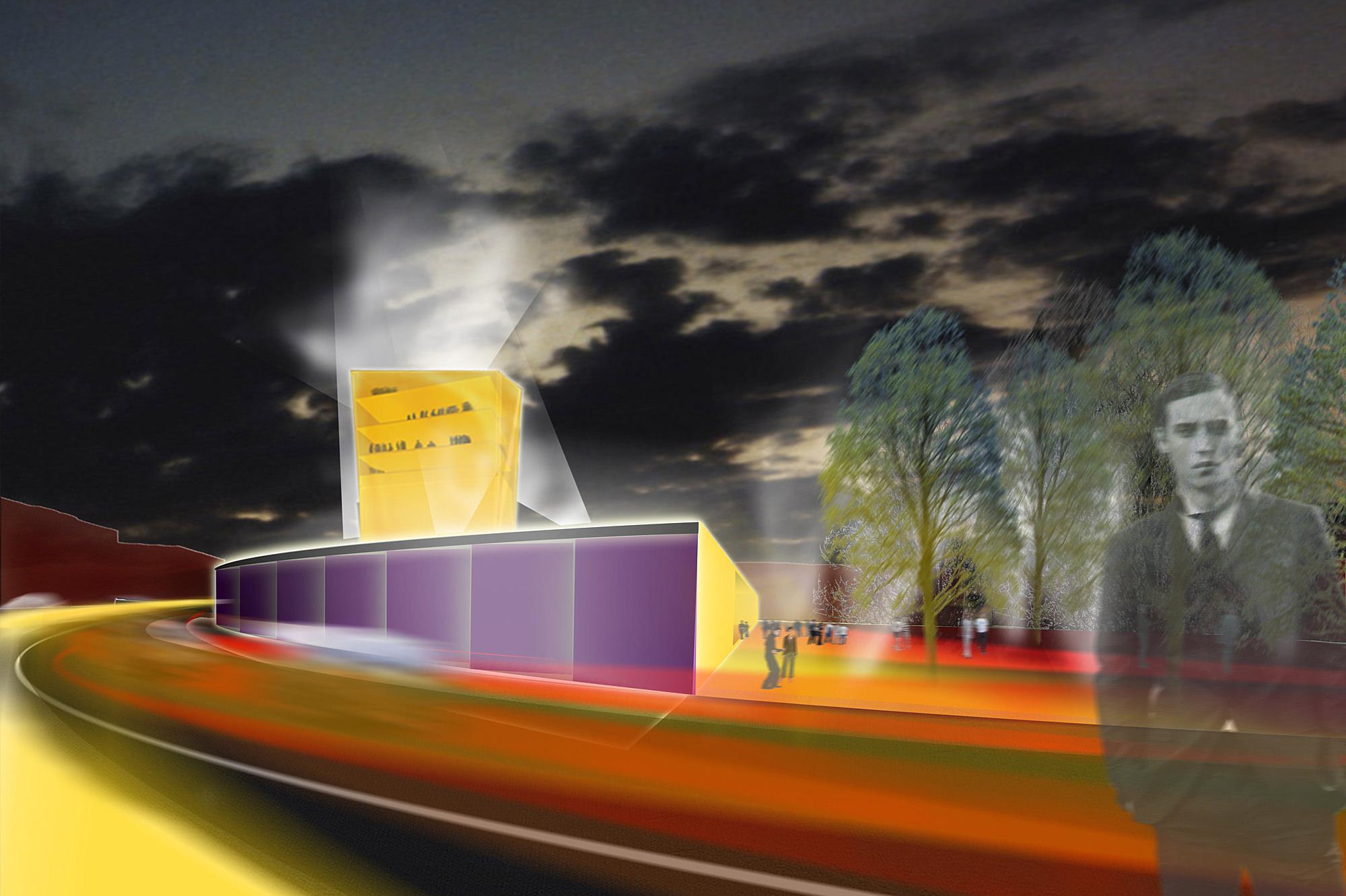 musiktheater linz 02 wettbewerb  junger beer architektur
