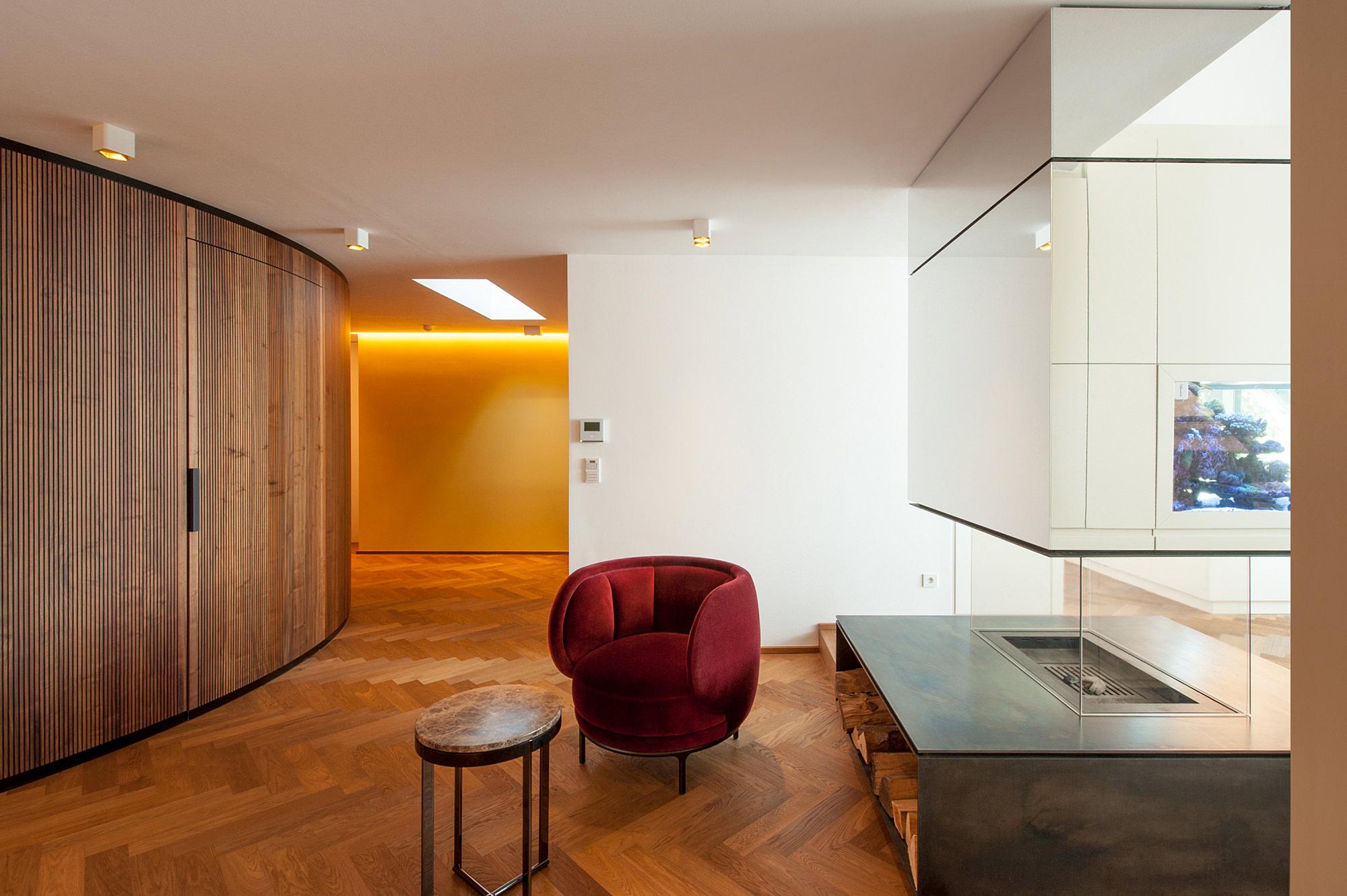 penthouse b 02 dachausbau mit terrasse 1070 wien junger beer architektur
