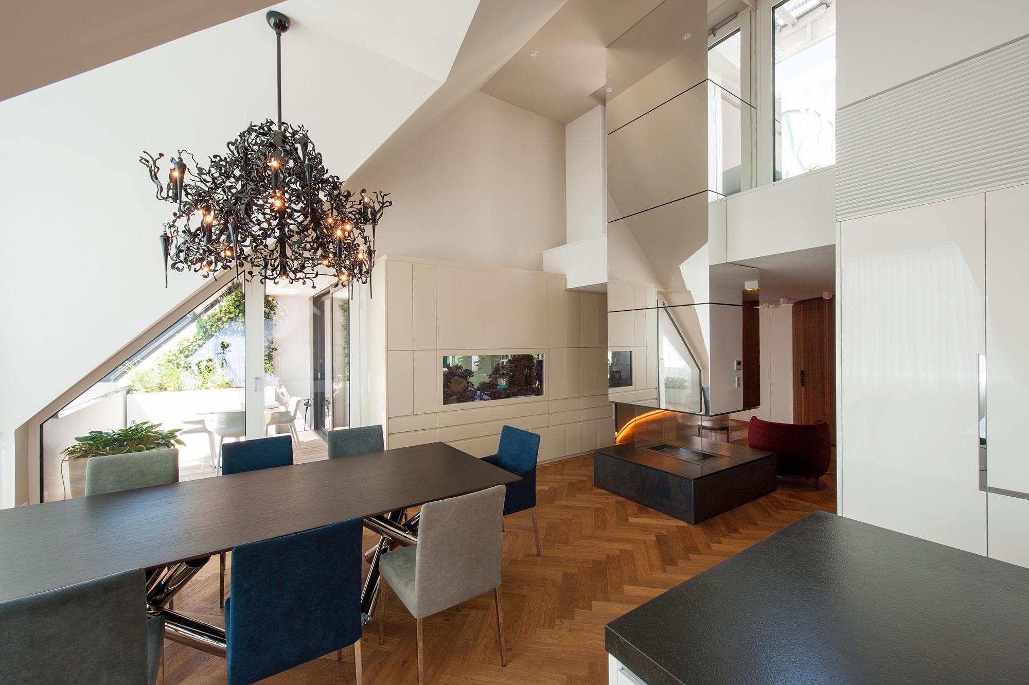 penthouse b 04 dachausbau mit terrasse 1070 wien junger beer architektur