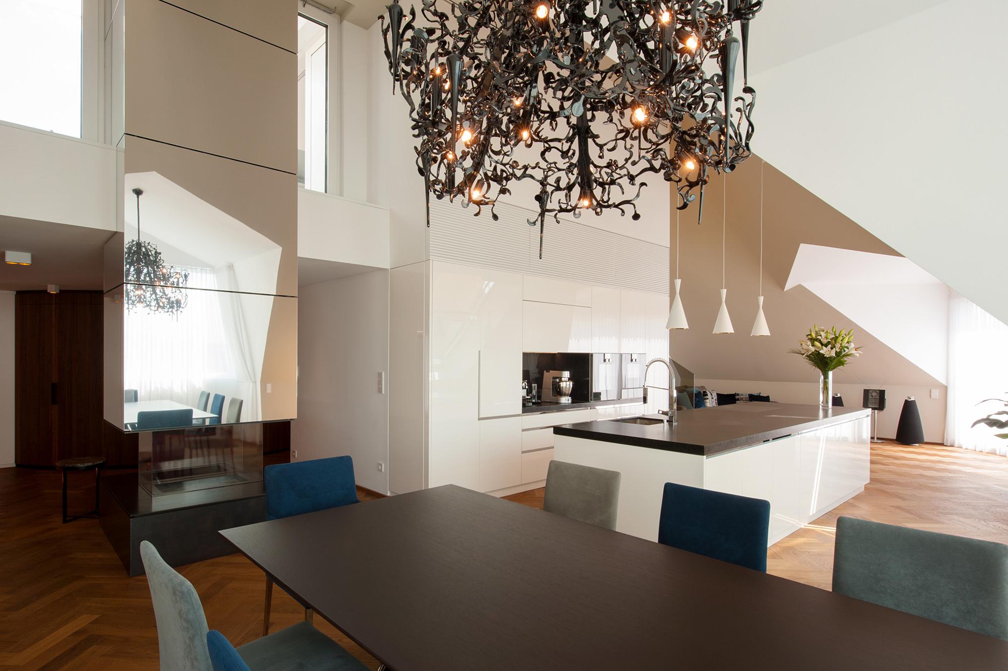 penthouse b 05 dachausbau mit terrasse 1070 wien junger beer architektur