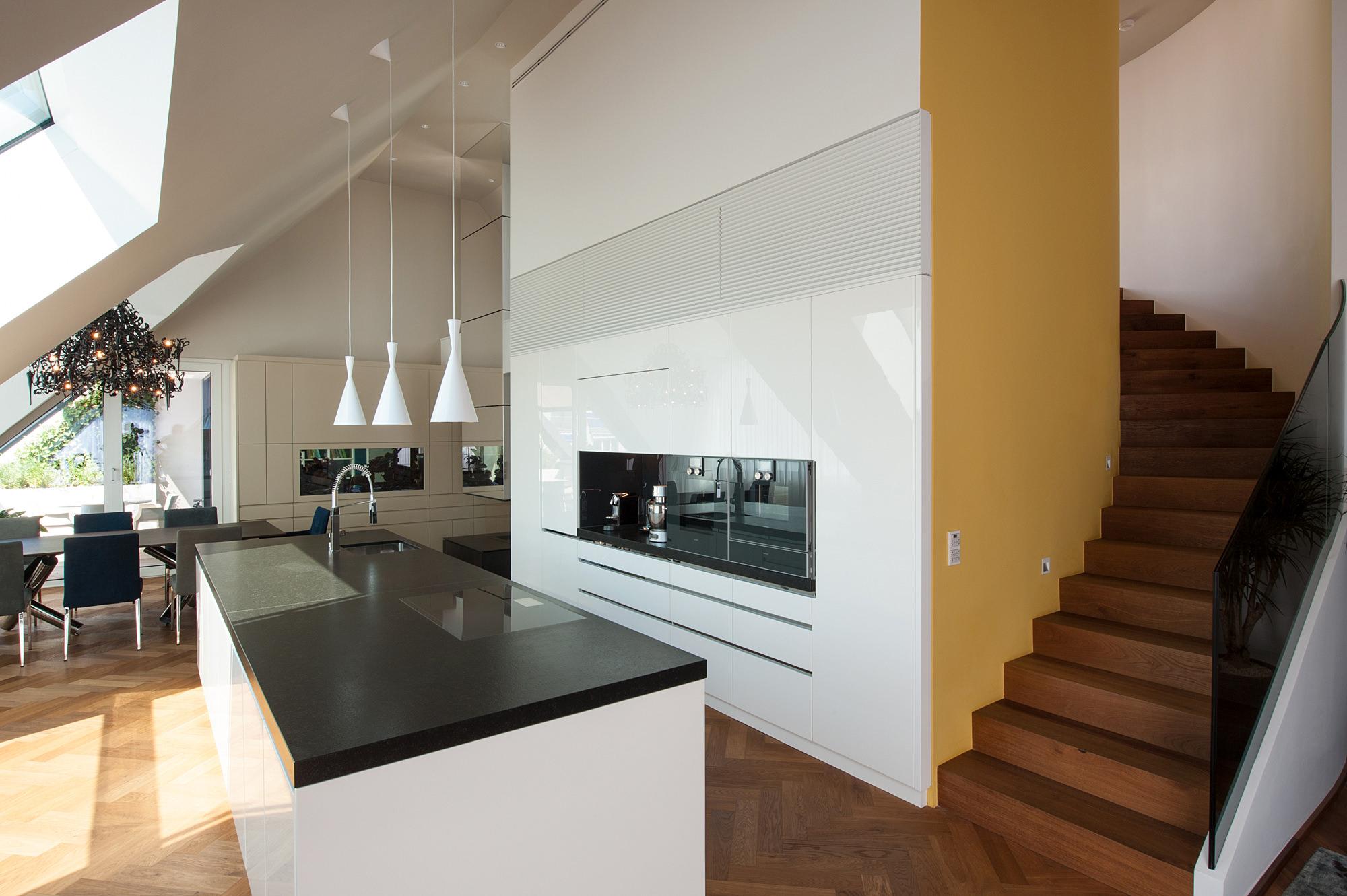 penthouse b 06 dachausbau mit terrasse 1070 wien junger beer architektur