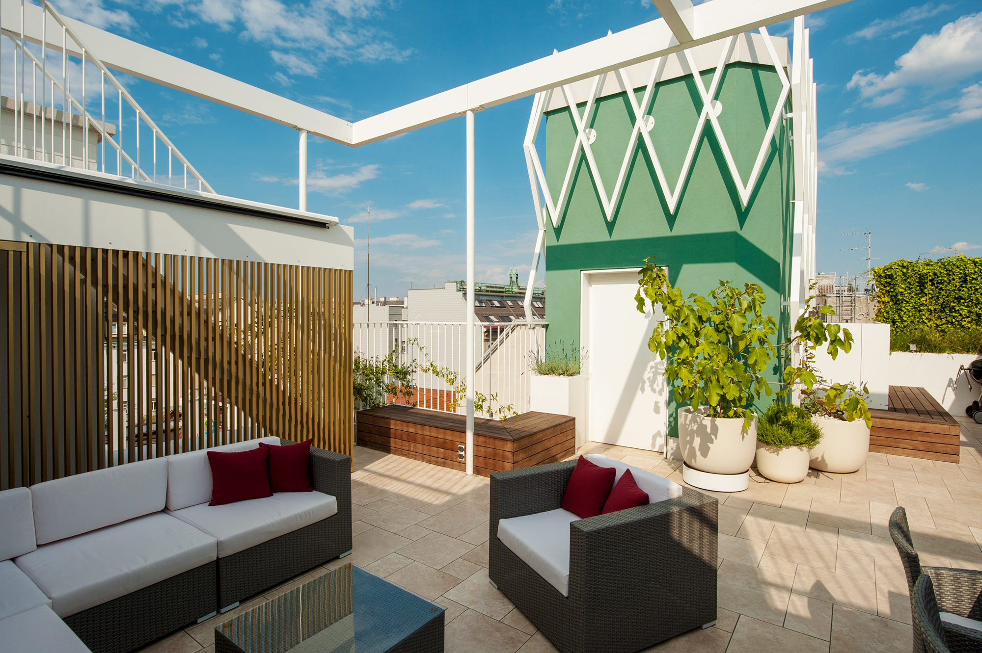 penthouse b 13 dachausbau mit terrasse 1070 wien junger beer architektur