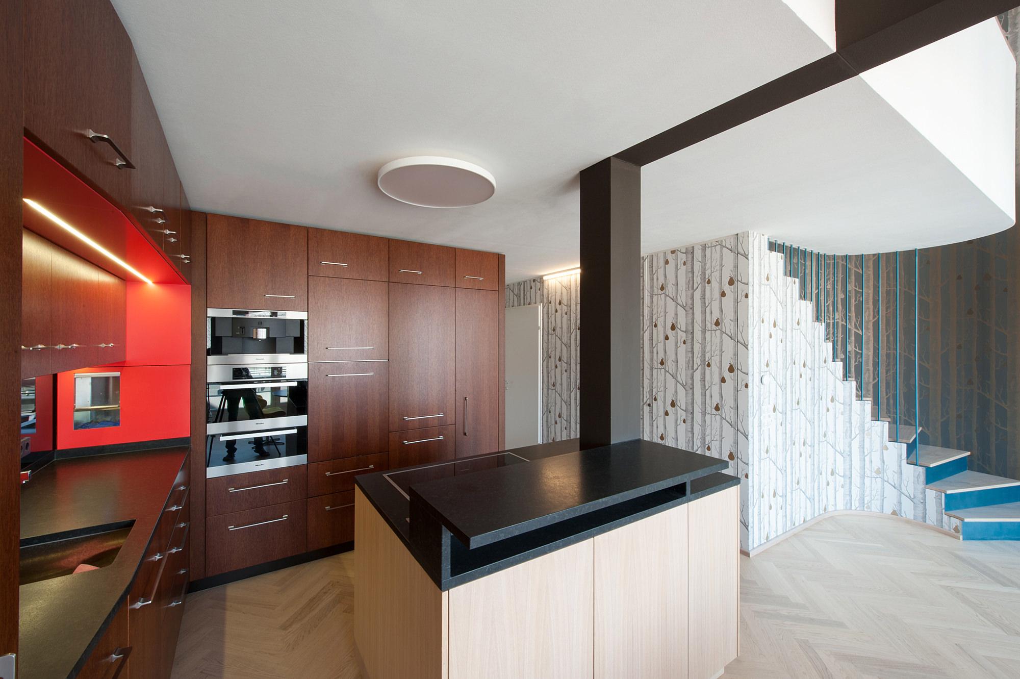 penthouse w 03 umbau dachausbau 1040 wien junger beer architektur