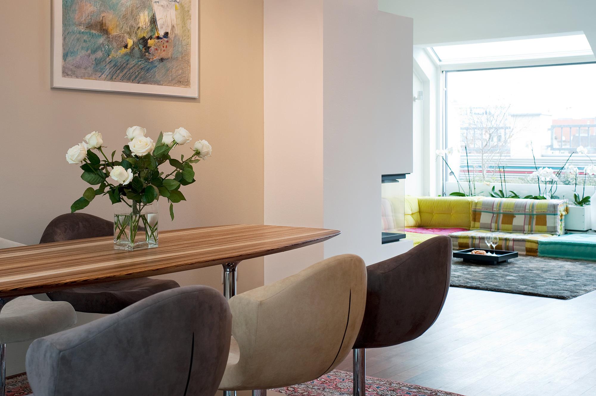 penthouse wien 4 03 umbau und innenraumgestaltung einer dachgeschosswohnung  junger beer architektur