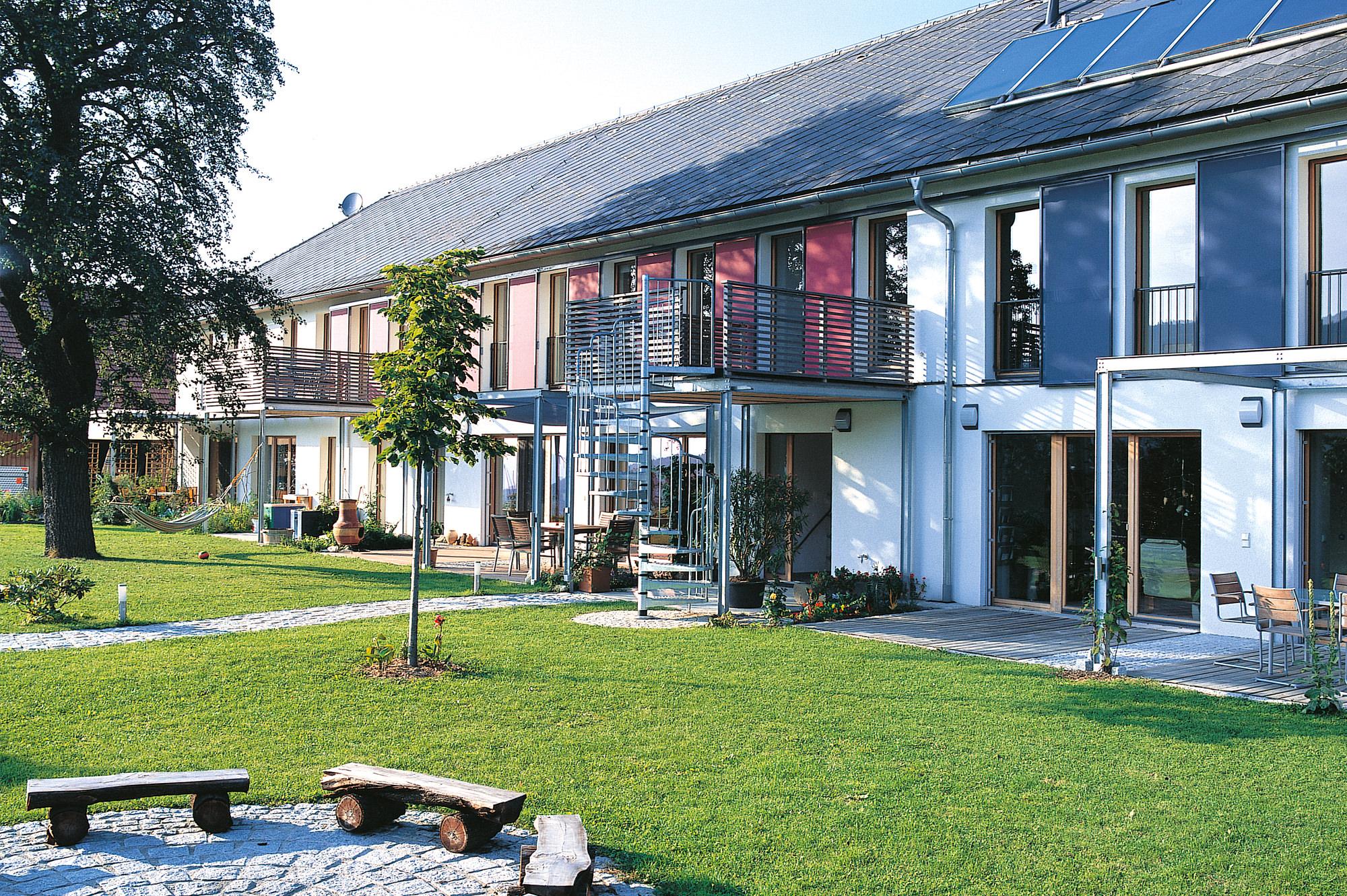 wohnhof 01 umbau sanierung bauernhaus junger beer architektur