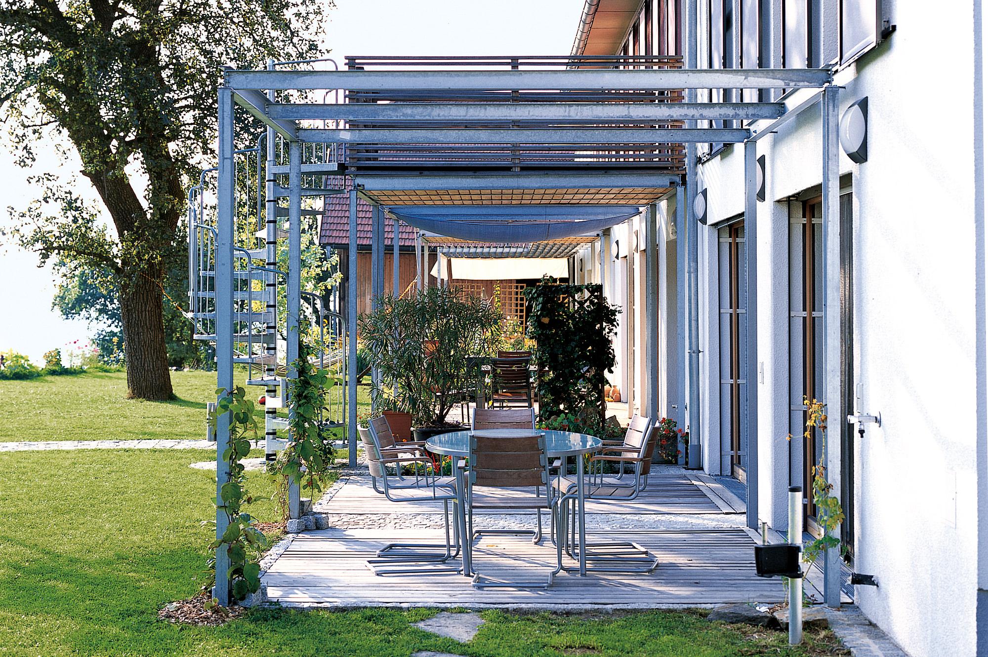 wohnhof 02 umbau sanierung bauernhaus junger beer architektur